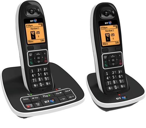 BT 7600 Twin Dect Nuisance Call Blocker Telephones TAM