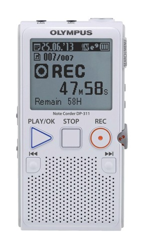 Olympus DP-311 2GB Memory Digital Voice Recorder