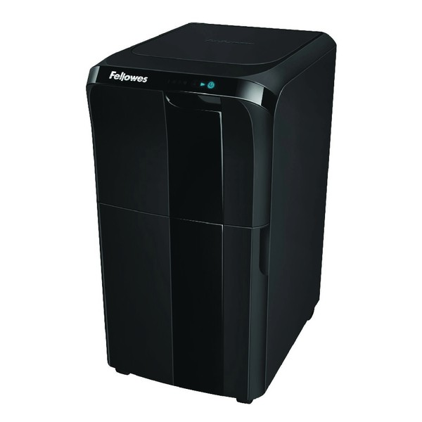 Fellowes AutoMax 300C autofeed paper shredder with SureFeed Technology
