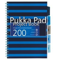 Pukka Pad Navy Project Book A4 Blue Code 6671-NVY