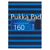 Pukka Pad Navy Refill Pad A4 Blue Ref 6679-NVY [Pack 6]