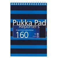 Pukka Pad Navy Reporters Pad Bue Ref 6689-NVY [Pack 3]