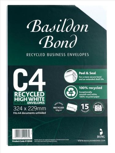 Basildon Bond C4 Envelope Small Pack R10046
