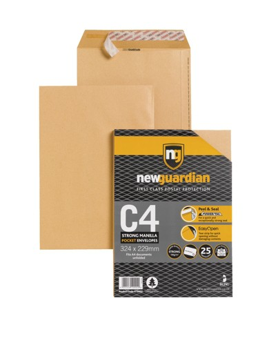 New Guardian C4 Envelope Small Pack R10002