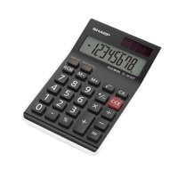 Sharp ELM700TWH Desk Tax Calculator