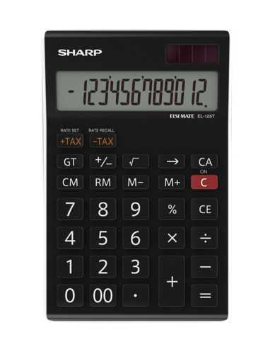 Sharp EL125TWH D/Top Calculator