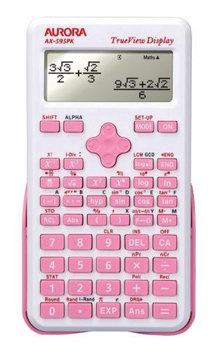 Aurora AX-595PK Scien Calc Pink