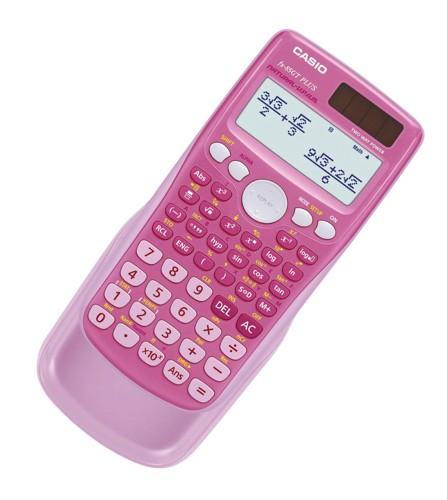 Casio FX-85GTPLUS Scientific Calculator Pink