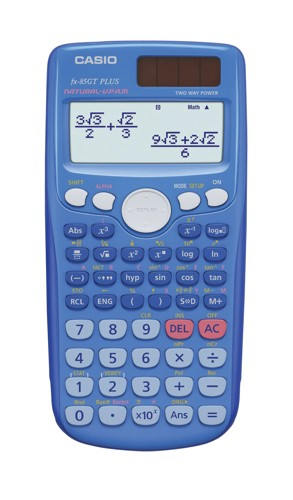 Casio FX-85GTPLUS ScienCalcu Blue