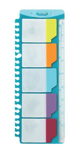ELBA Index Adhesive Tabs Asrt 400014016