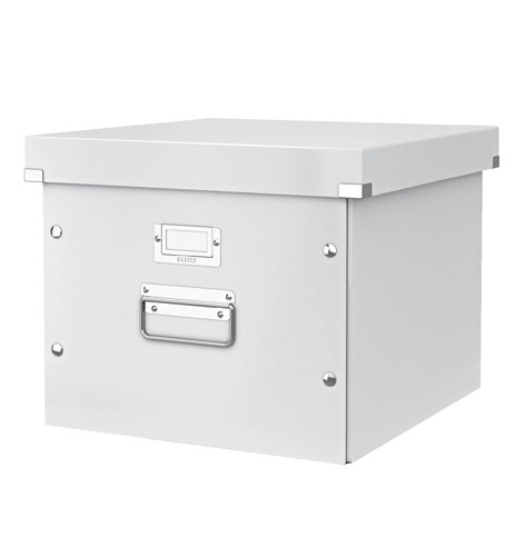 Leitz Click and Store Archive Box For A4 Suspension Files White