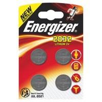 Energizer Lithium Batteries 2032/CR2032 Pack 4