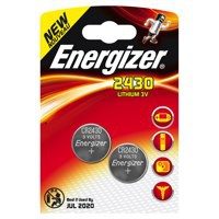 Energizer Lithium Batteries 2430/CR2430 Pack 2