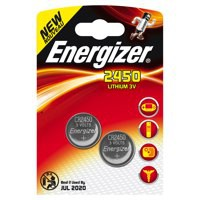 Energizer Lithium Batteries 2450/CR2450 Pack 2