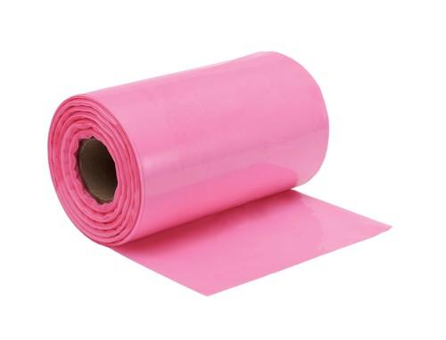 Layflat Tubing Pink Anti Static Polythene 300mmx150m AST2512-150