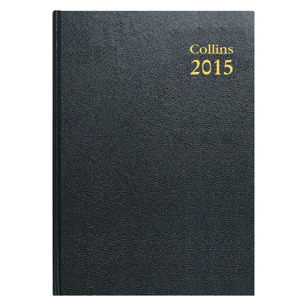 Collins 2015 Big Diary 2Page/Day 47 Blk