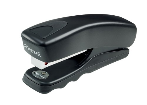 Rexel Gemini Half Strip Stapler Black