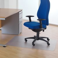 Cleartex Phthalate-Free Chairmat 120x90cm. For hard floors
