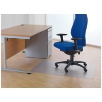 Cleartex Phthalate-Free Chairmat 120x150cm. For hard floors