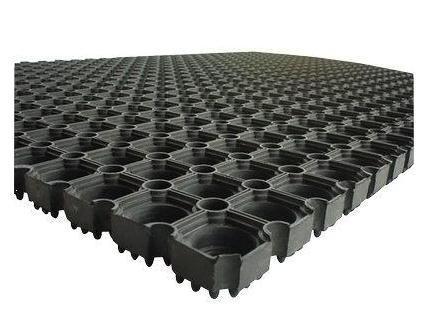 Doortex Octo Door Mat Indoor and Outdoor Rubber 1000x1500mm Code 41015220CBK