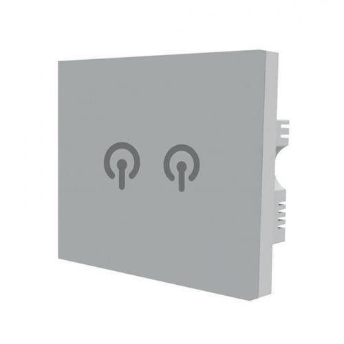 energyEGG Light Switch Twin Socket