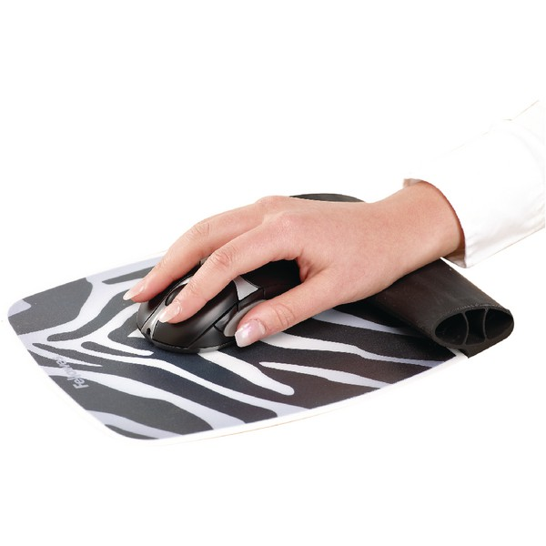 Fellowes Wrist Rocker Zebra