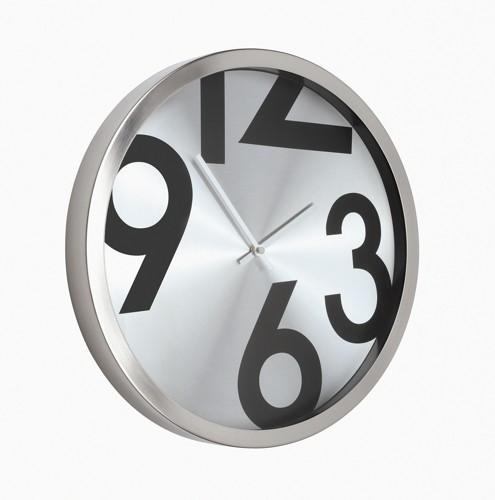 Wall Clock Round Metal Ref 2716