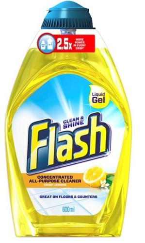 Flash Gel Lemon 600ml