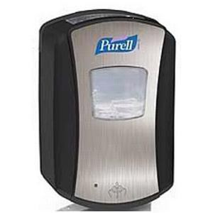 Purell Hand Sanitiser Dispenser Chrome/Black LTX-7
