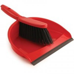 Bentley Dustpan and Brush Set Red Code 8011/R