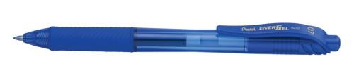 Pentel EnerGel X Rollerball Retractable Pen Blue 0.7mm Medium Pack 12