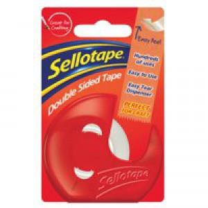 Sellotape Dble Sided 15mmx5m /Dispenser