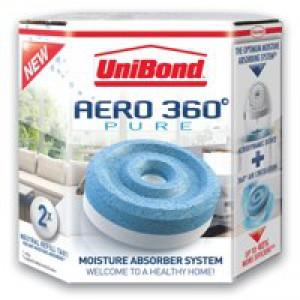 UniBond Aero 360 Moistre Absorber Refills 2x 450g