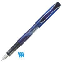 Zebra Fuente Disposable Fountain Pen Blue