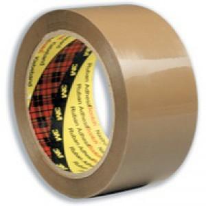 Scotch Low Noise Buff Tape 48mmx66m Pk6