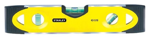 Stanley 230mm Shock Proof Torpedo Level Magnetic Base Ref 0-43-511