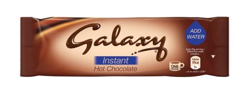 Galaxy Hot Chocolate Powder Sachets 25g Pack 50 A02476