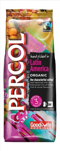 Percol FT Latin America Ground Coffee 227g