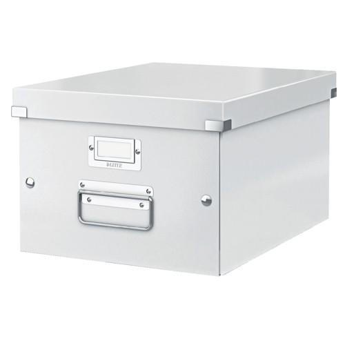 Leitz Click & Store Medium Storage and Transportation Box A4 White