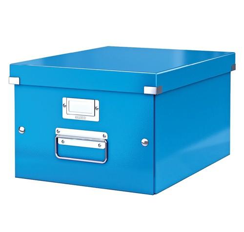 Leitz Click & Store Medium Storage and Transportation Box A4 Blue