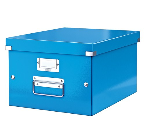 Leitz WOW C&S A4 Box Blu-60440036