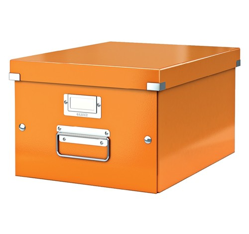 Leitz Click & Store Medium Storage and Transportation Box A4 Orange