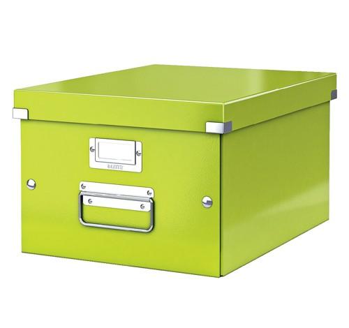Leitz WOW C&S A4 Box Grn-60440064