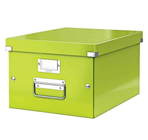 Leitz Click & Store Medium Storage and Transportation Box A4 Green