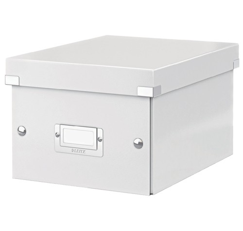 Leitz Click and Store Collapsible Archive Box Small For A5 White Ref 60430001