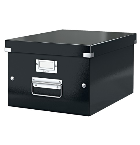 Leitz Click & Store Medium Archiving Box Black