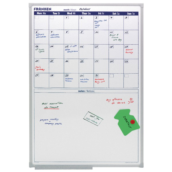 Franken Monthly Planner with Notes