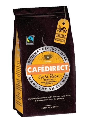 Cafe Direct Tarrazu Costa Rican Filtre Coffee 227g