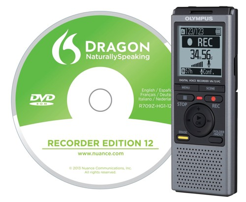 Olympus VN-7312GB Voice Recorder DNS