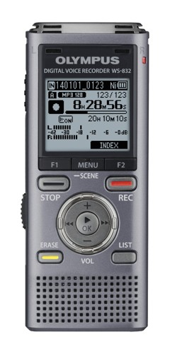 Olympus WS-832 4GB Stereo Voice Recorder